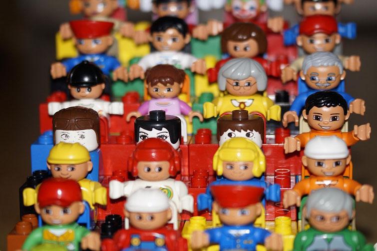 Vocabulario en inglés sobre juguetes y niños